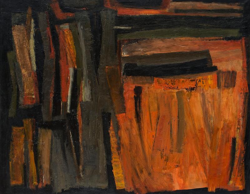 lois frederick - peinture 1955 1956