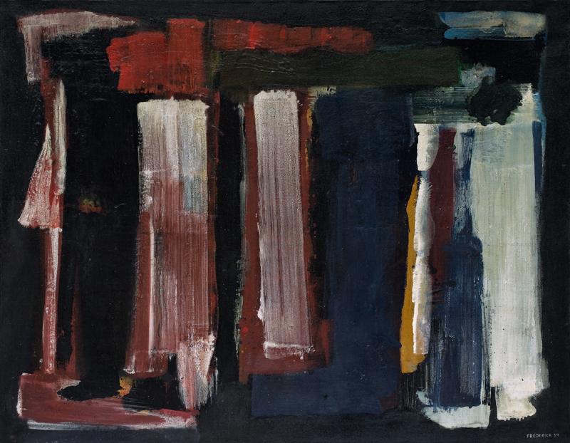 lois frederick - peinture 1964