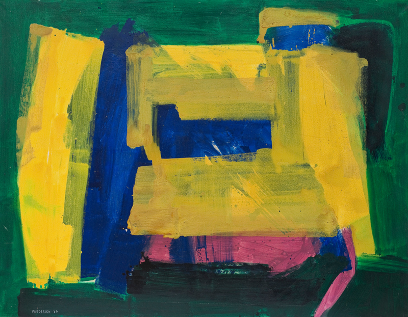 lois frederick - peinture 1969