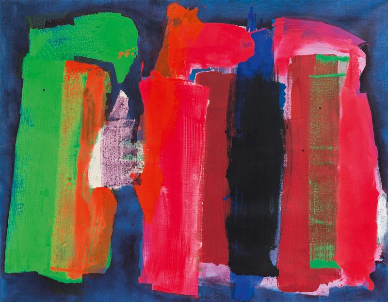 lois fredrick - peinture 1973