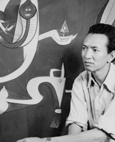 wifredo lam - photo atelier