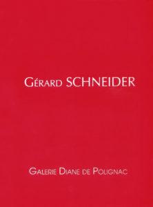 catalogue d'exposition gerard schneider