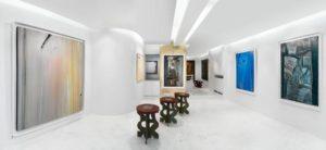 galerie diane de polignac - vue expositions olivier debre 2014