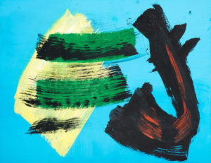 gerard schneider - peinture de 1970 ca