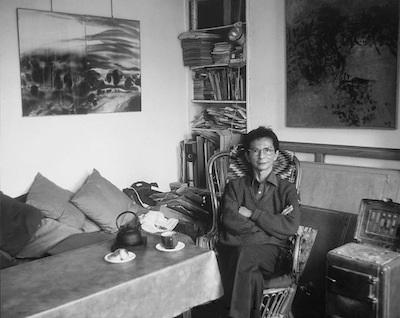 tang haywen - photographie dans son atelier