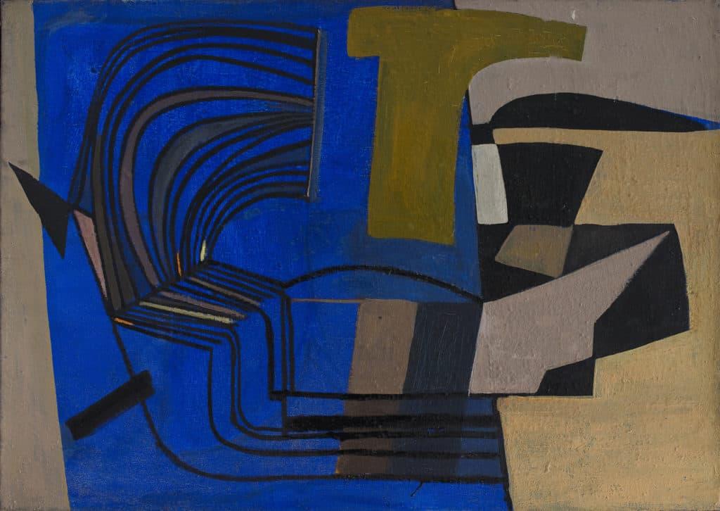 huguette arthur bertrand - peinture de 1951