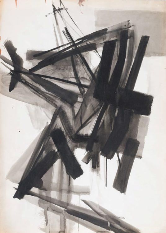 huguette arthur bertrand - peinture de 1959 ca