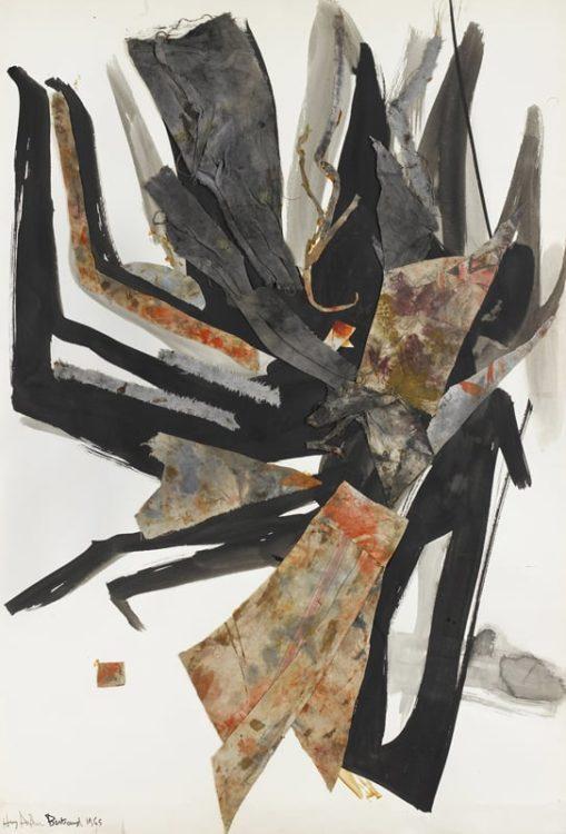 huguette arthur bertrand - grand collage 1965