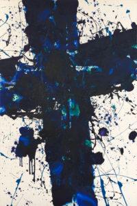 Sam Francis,Sam Francis Action Painting,Sam Francis American Informal Painting,Sam Francis Gallery Diane de Polignac