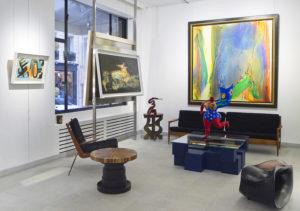 galerie diane de polignac - sanyu exposition collective