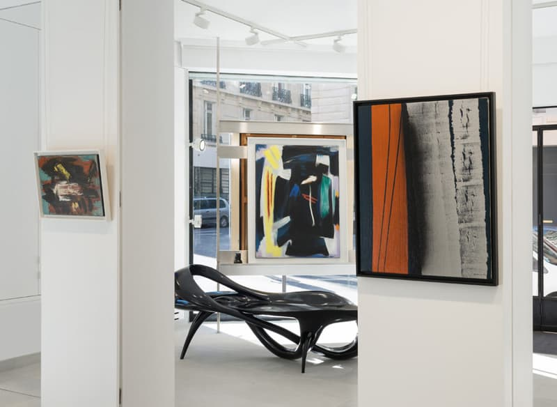 Gérard Schneider Hans Hartung Galerie Diane de Polignac
