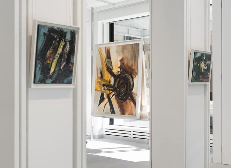 Gérard Schneider Huguette Arthur Bertrand Galerie Diane de Polignac