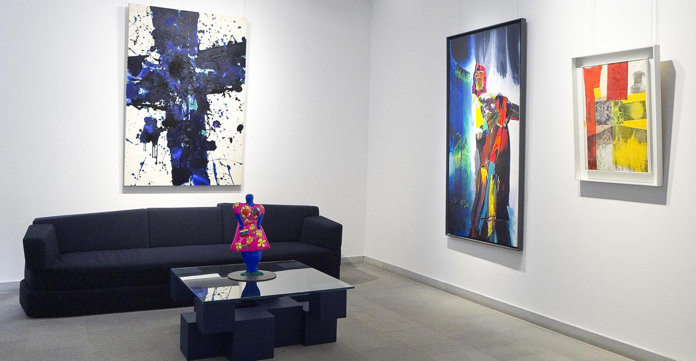 Sam Francis Paul Jenkins Paul Rauschenberg Niki de Saint Phalle Galerie Diane de Polignac