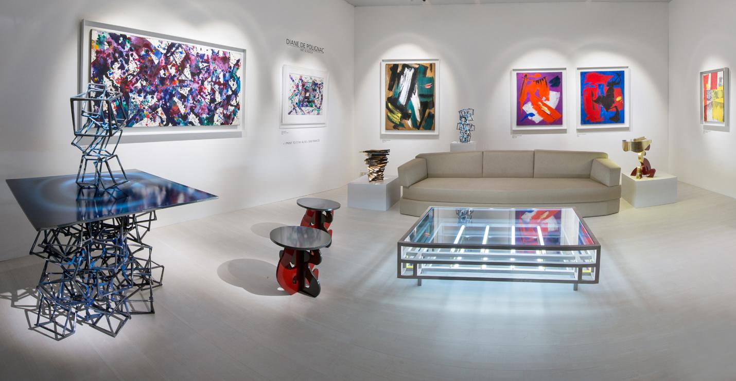 Gérard Schneider Robert Rauschenberg Galerie Diane de Polignac