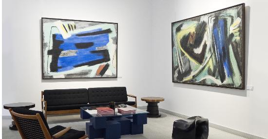 gerard schneider - peintures exposition galerie diane de polignac