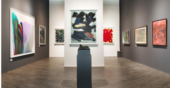 Gérard Schneider Paul Jenkins Galerie Diane de Polignac