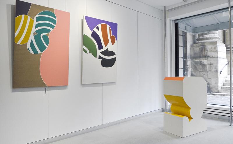 guy de rougemont - ensemble œuvres exposition galerie diane de polignac