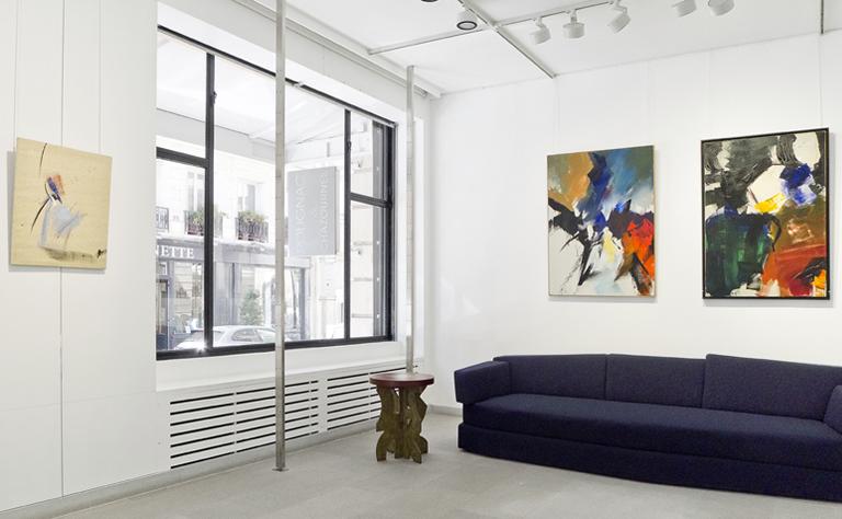 jean miotte - vue exposition galerie diane de polignac 2019
