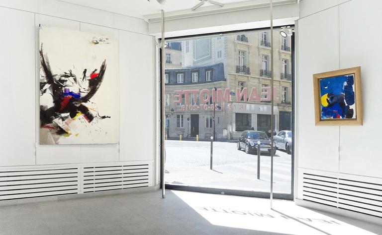 jean miotte - ensemble œuvres exposition galerie diane de polignac 2019