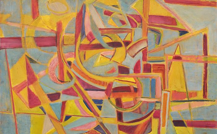 marie raymond - œuvre 1946 galerie diane de polignac