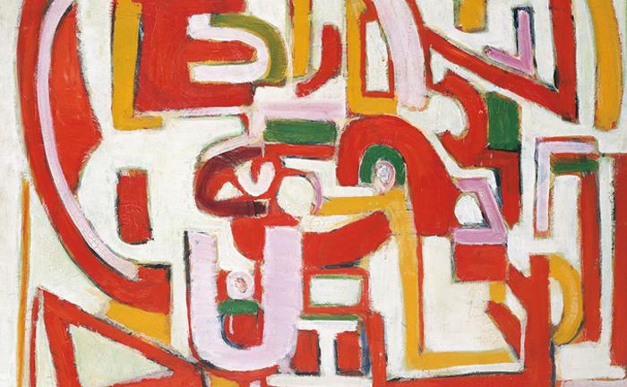 marie raymond - œuvre 1947 galerie diane de polignac