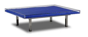 yves klein - table bleu klein