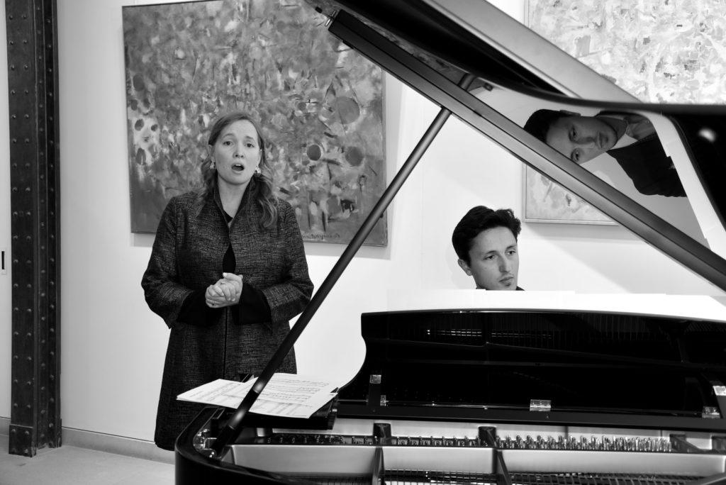 marie raymond - recital piano vernissage galerie diane de polignac