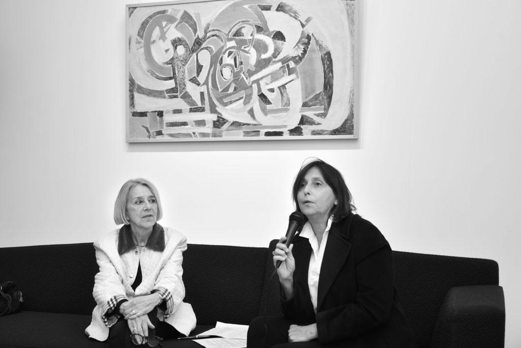 marie raymond - conference vernissage galerie diane de polignac