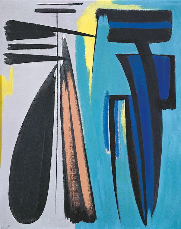 gerard schneider - peinture de 1949