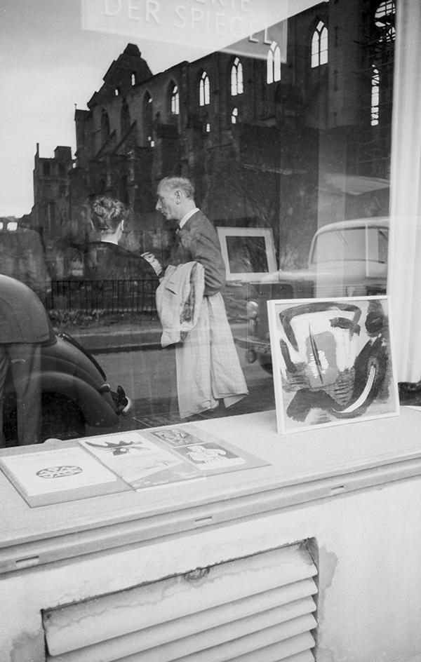 gerard schneider - galerie der spiegel 1952