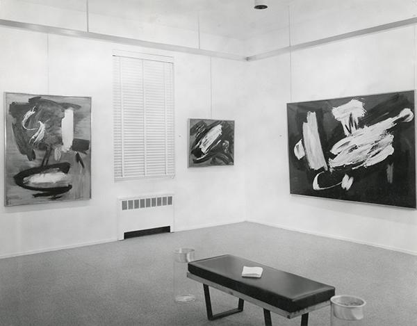 gerard schneider - exposition kootz 1956