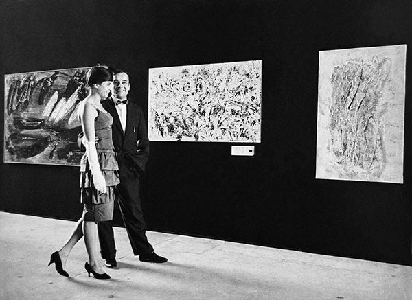 yves klein rotraut - portrait 1960