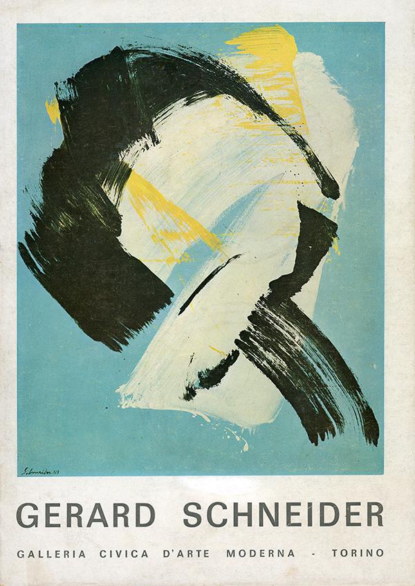 gerard Sschneider - catalogue 1970
