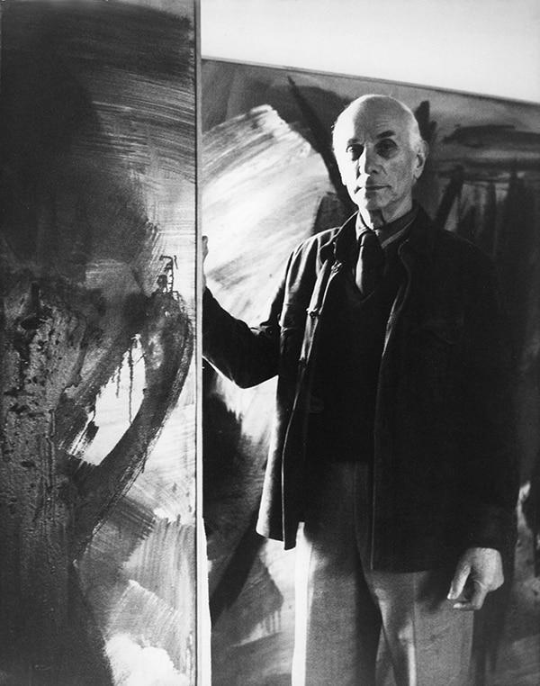 gerard schneider - portrait 1965 ca