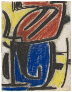 gerard schneider - peinture de 1949 ca