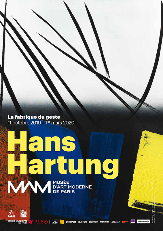hans hartung - exposition musee art moderne 2019