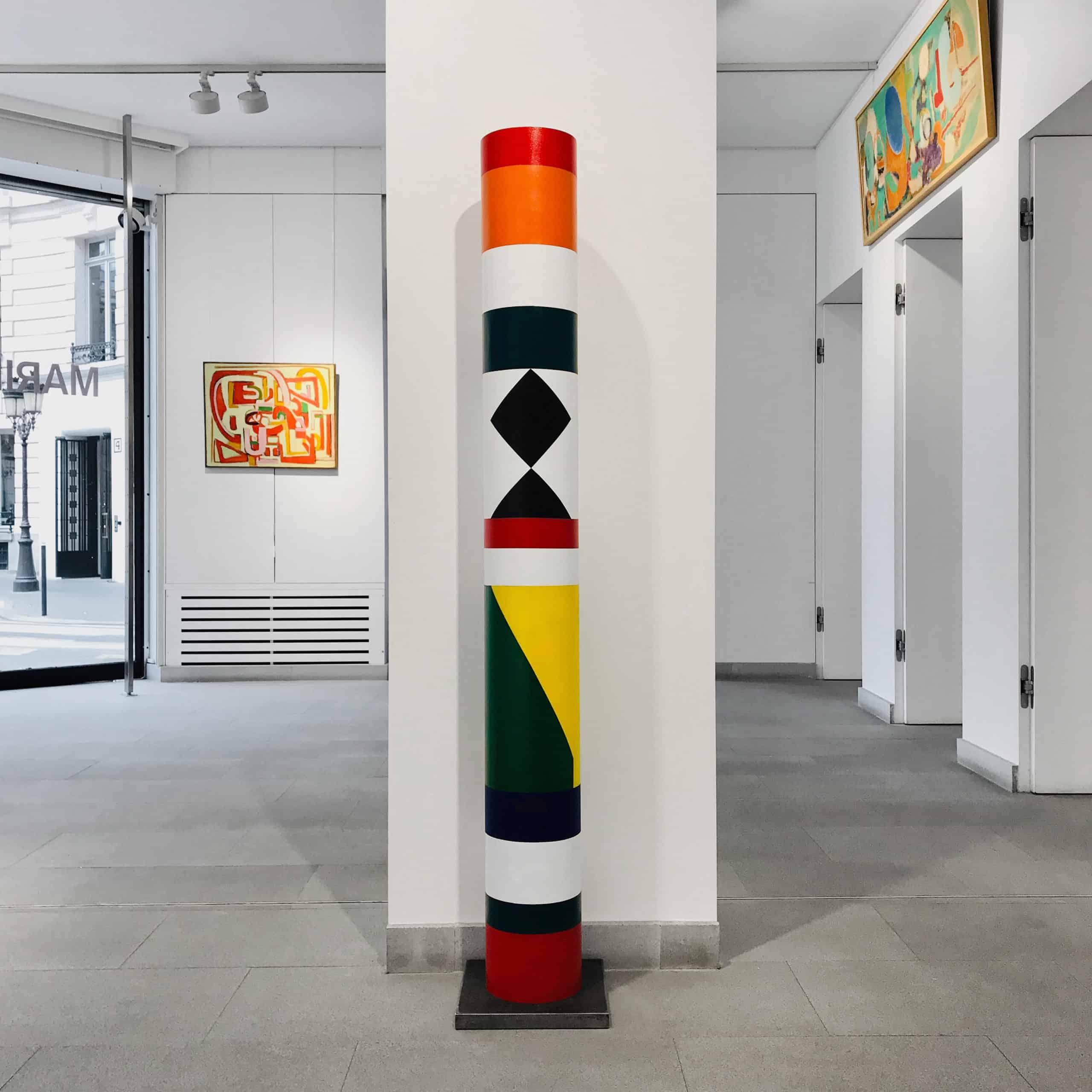 guy de rougemont - totem 2019 galerie diane de polignac