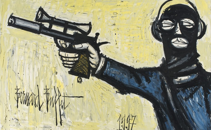 bernard buffet - hold up 1997