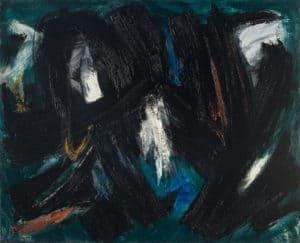 gerard schneider - peinture de 1958