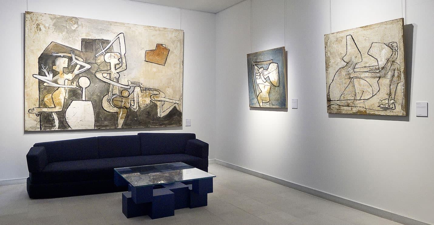 roberto matta - exposition galerie diane de polignac