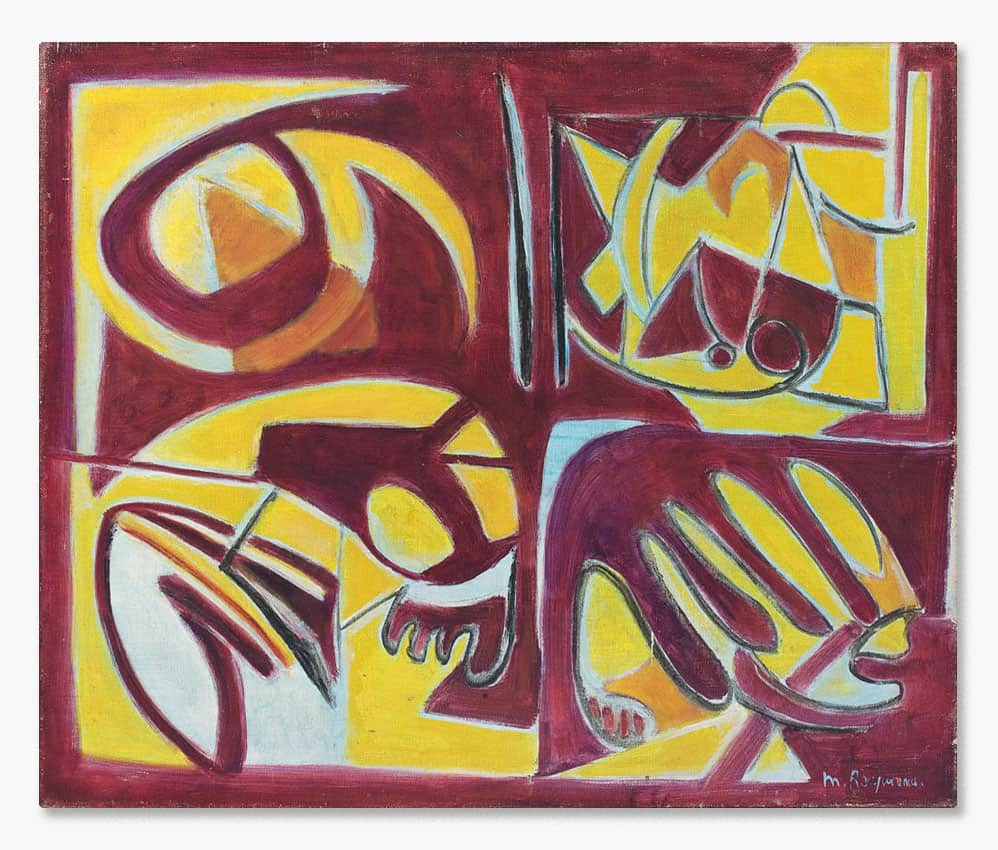 marie raymond - peinture 1949 - viewingroom
