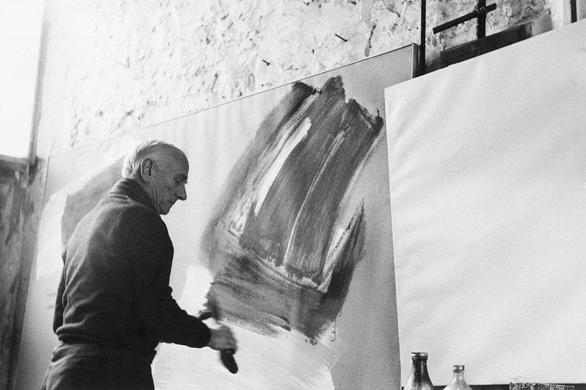 gerard schneider - atelier les audigers 1967