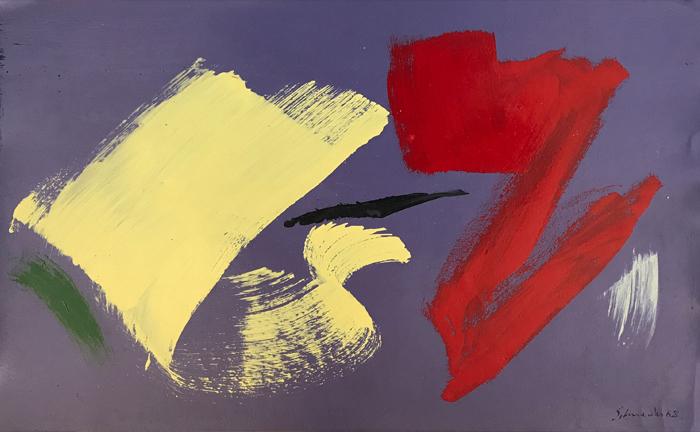 gerard schneider - peinture 1965