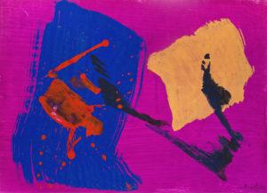 gerard schneider - oeuvre papier 1966