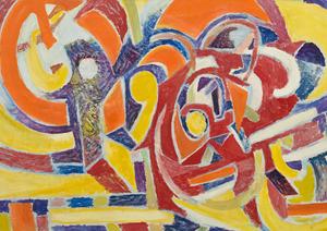 marie raymond - exhibition diane de polignac gallery