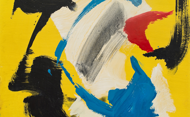 gerard schneider - exposition le geste et la couleur