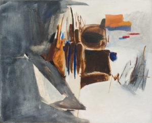 peinture huguette arthur bertrand pampelune - 1962
