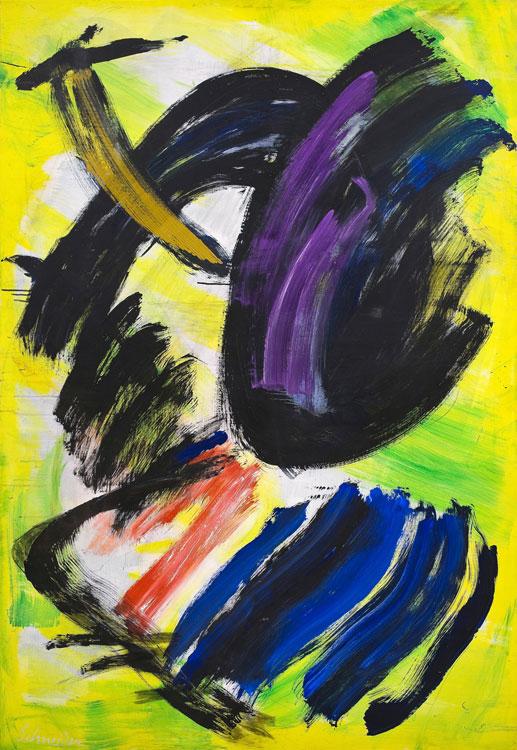 gerard schneider - opus 30 m 1977 painting