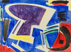 gerard schneider - paper untitled 1951