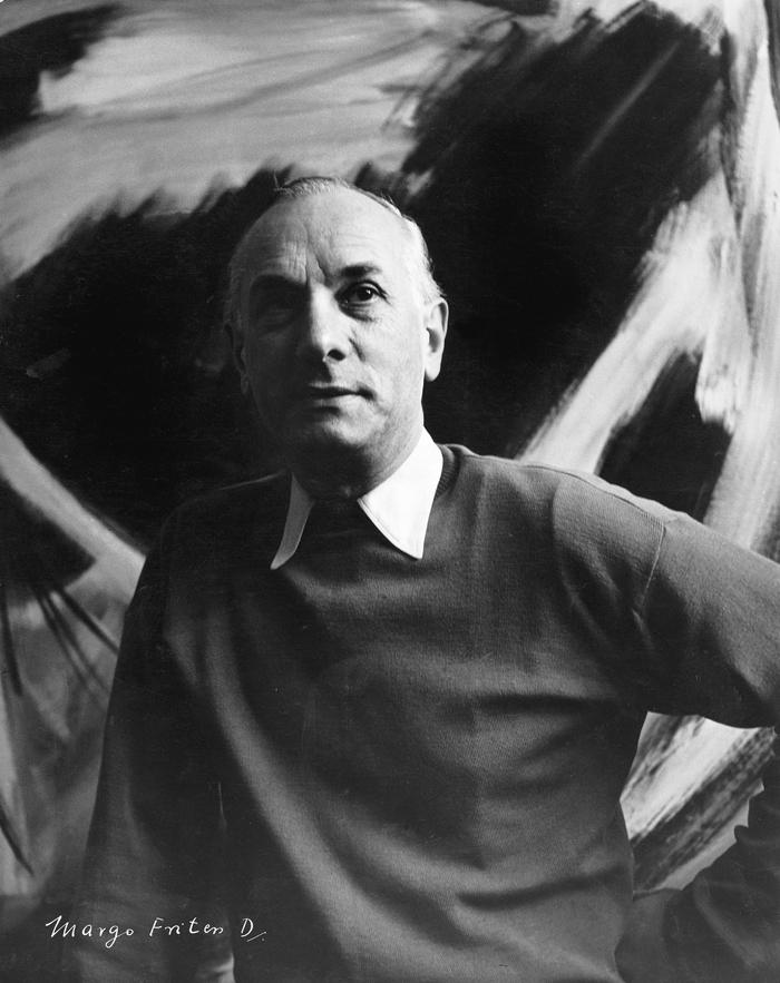 gerard schneider - portrait opus 65 b 1954